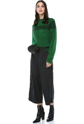 Cream&Rouge Kadın 16K504 Deri Pantolon