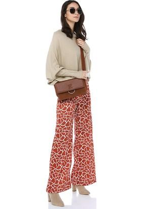 Cream&Rouge Kadın 17K032 Yarasa Kol Triko