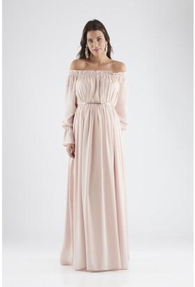 Isabella Hamile Kadın Elbise - Pembe