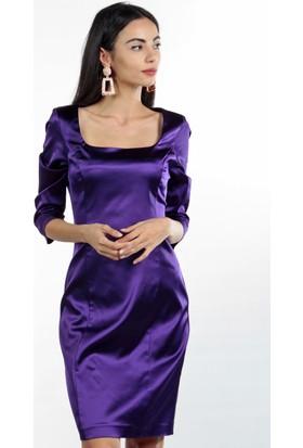Pinkmark Kadın Mor Elbise