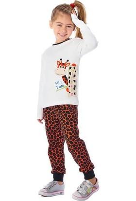 Guguwaykids Kız Çocuk Zürafa 2'li Takım