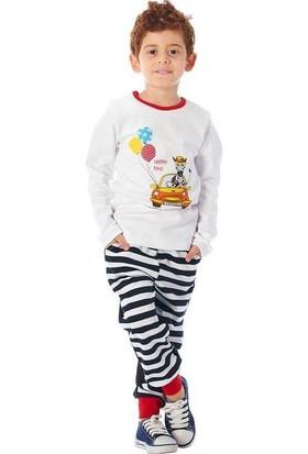 Guguwaykids Erkek Çocuk Arabalı Zebra 2'li Takım