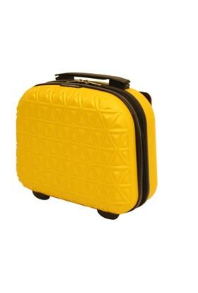 Ççs 5153-Sr Sarı Bakalit Makyaj Çantası