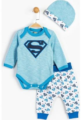 Superman Bebek 3'lü Takım 13876