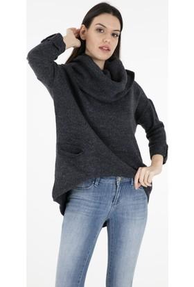 Vero Moda Vmfrancıe Copenhagen 3/4 Cowlneck Boo Kadın Kazak 10203296