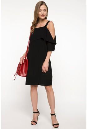 66ecce59b9f0c Defacto Fırfır Detaylı Elbise Defacto Fırfır Detaylı Elbise ...