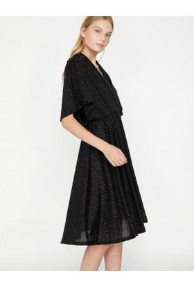 9d6ba0fed3f46 Koton Sim Detaylı Elbise Koton Sim Detaylı Elbise ...