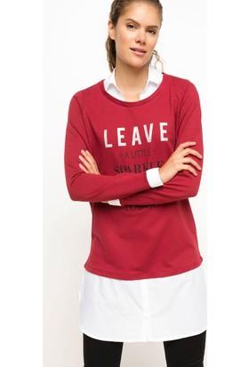 Defacto Kadın Gömlek Detaylı Tunik