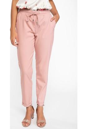 Defacto Kadın Bağcık Detaylı Rahat Kesim Pantolon