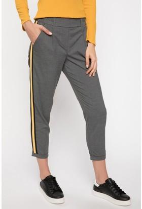 Defacto Kadın Şerit Detaylı Relax Fit Pantolon