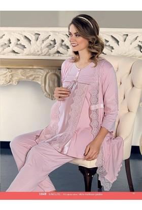 Artış 1048 3 Lü Lohusa Pijama Takımı