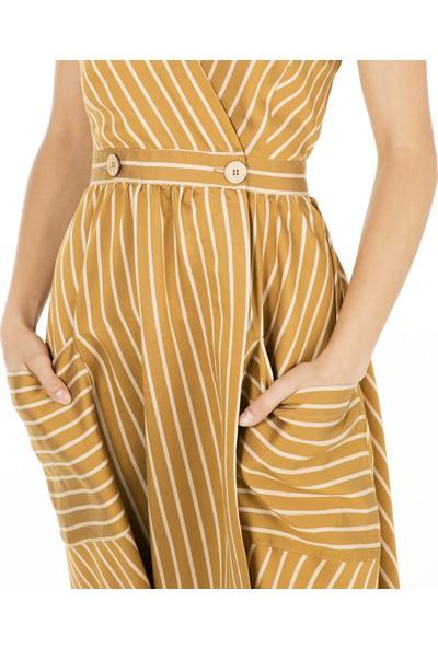Ayhan Kadın Elbise 61106