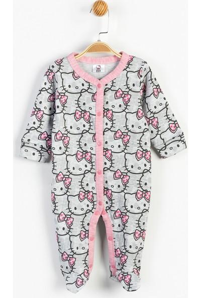 Hello Kitty Bebek Önden Çıtçıtlı Tulum 13395