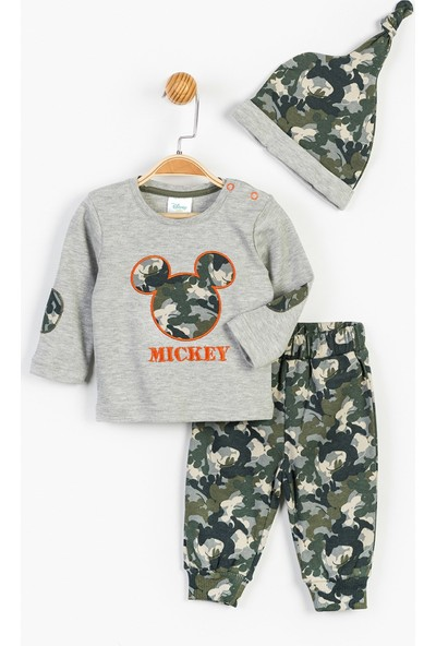 Disney Mickey Mouse Bebek 3'Lü Takım 13365