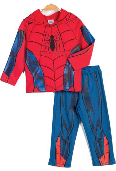 Spiderman Çocuk Kostüm 2'Li Takım 13719