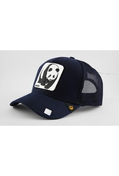 Cap Stories Hayvanlı Şapka Panda Desenli Fileli Snapback Cap