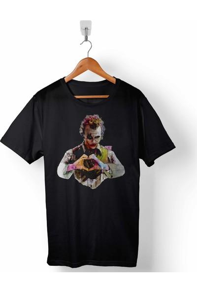 Kendim Seçtim Batman Kara Şovalye Joker My Heart Betmen Erkek Tişört