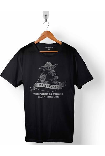 Kendim Seçtim Star Wars Yoda Masters Ale Yıldız Savaşları Erkek Tişört