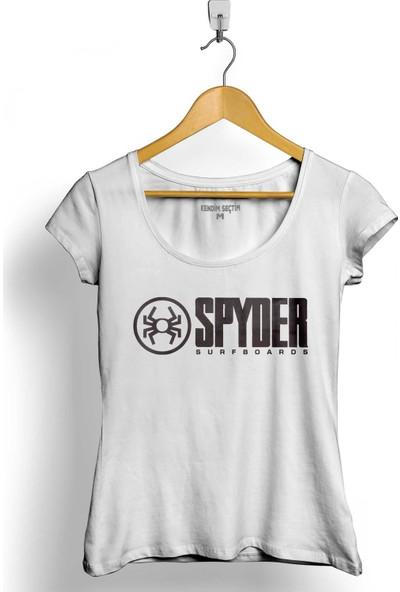 Kendim Seçtim Can-Am Spyder Bombardier Roadster Örümcek Kadın Tişört