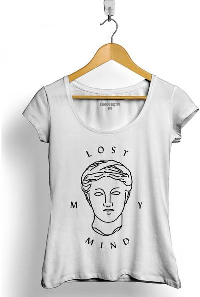 Kendim Seçtim Lost My Mind Alice Kristiansen Kadın Tişört