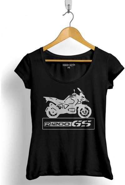 Kendim Seçtim Bmw R1200Gs R 1200 Gs Motosiklet Motocycle Kadın Tişört