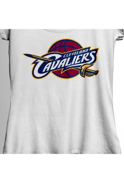 Kendim Seçtim Cleveland Cavaliers Lebron James 23 Basketbol Kadın Tişört