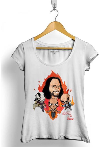 Kendim Seçtim Don Diablo Obo Suicide Squad Hexagon Kadın Tişört