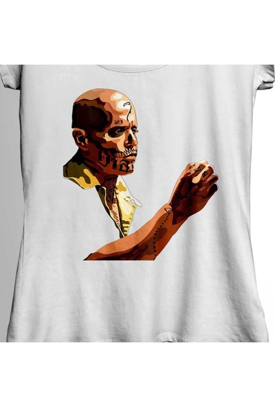 Kendim Seçtim Don El Diablo Obo From Suicide Squad Hexagon Kadın Tişört