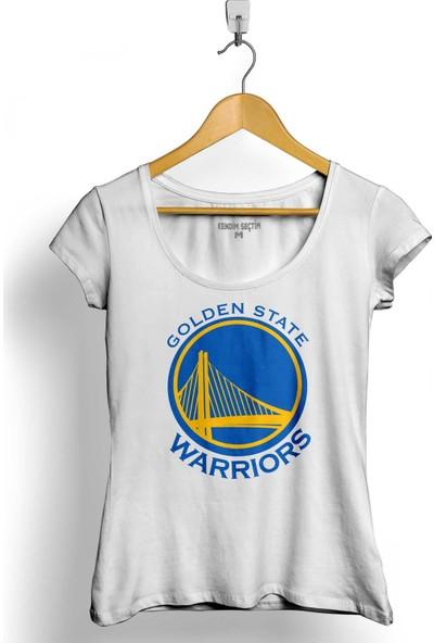 Kendim Seçtim Golden State Warriors Basketbol Basketball Nba Kadın Tişört