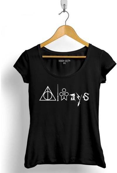 Kendim Seçtim Harry Potter Always Allways Her Zaman Kadın Tişört