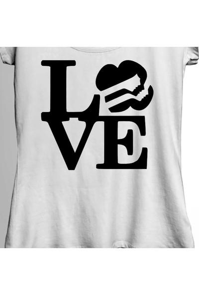 Kendim Seçtim Love Dance Life Dansı Seviyorum Hip Hop Sanat Kadın Tişört