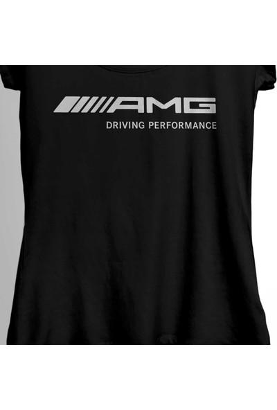 Kendim Seçtim Mercedes Benz Amg Sport Driving Performance Kadın Tişört