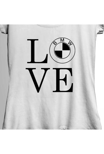 Kendim Seçtim My Love Bmw M Power Sport 1 2 3 4 5 6 7 Serisi Kadın Tişört