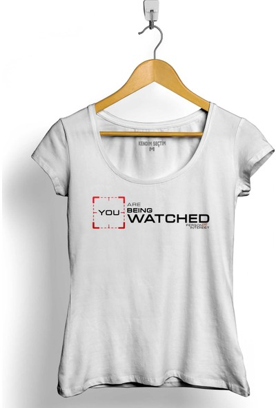 Kendim Seçtim Person Of Interest You Are Being Watched Kadın Tişört