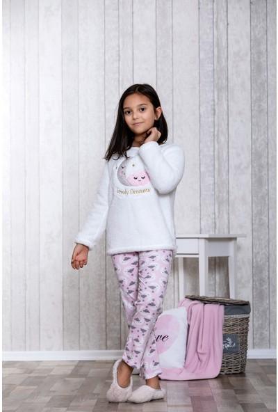 Lingabooms Bulutlu 2'li Çocuk Pijama Takım LB3012