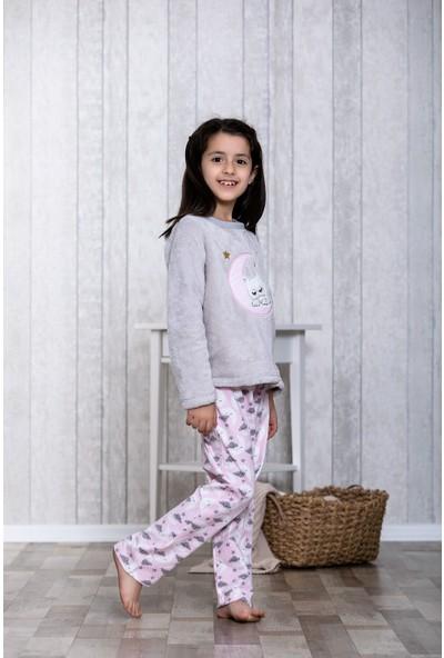 Lingabooms Bulutlu 2'li Çocuk Pijama Takım LB3013