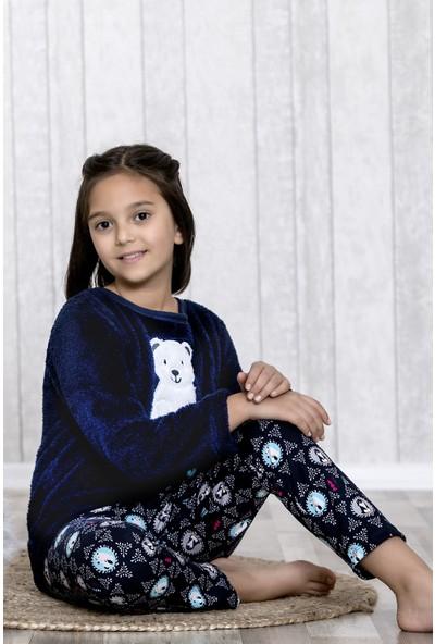 Lingabooms Kutup Ayılı 2'li Çocuk Pijama Takım LB3020