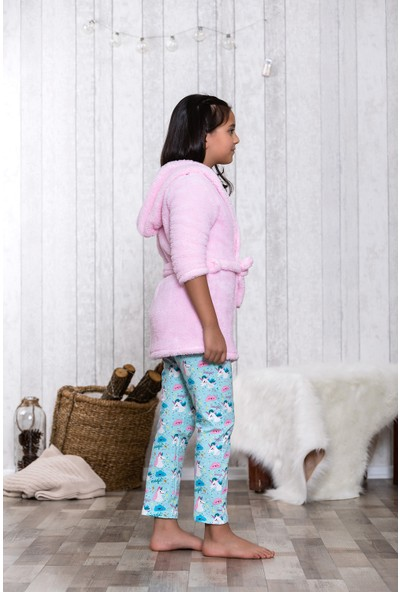 Lingabooms Unicorn 3'lü Çocuk Pijama Takım LB5001