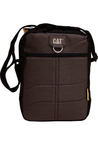 Cat Erkek Çapraz Omuz Çantası Siyah/Gri Cat1283434Skm65