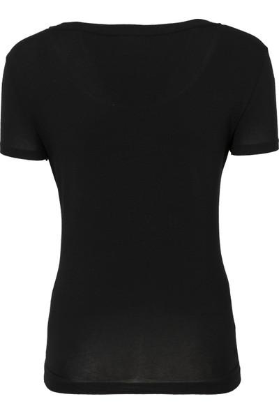Ea7 Kadın T Shirt 3Ztt81 Tj12Z 1200