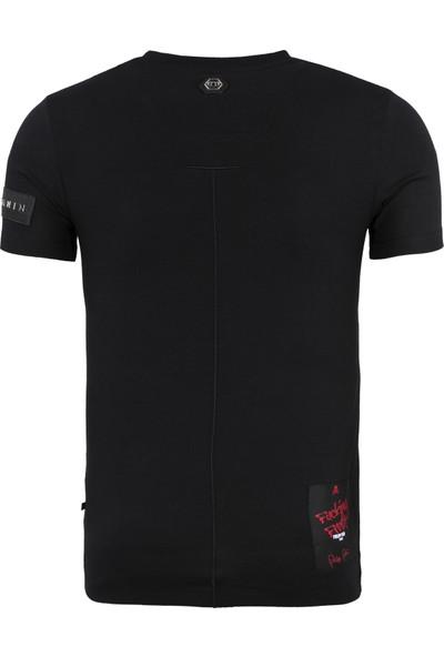Philipp Plein Erkek T Shirt F18C Mtk2433 Pjy002N 02