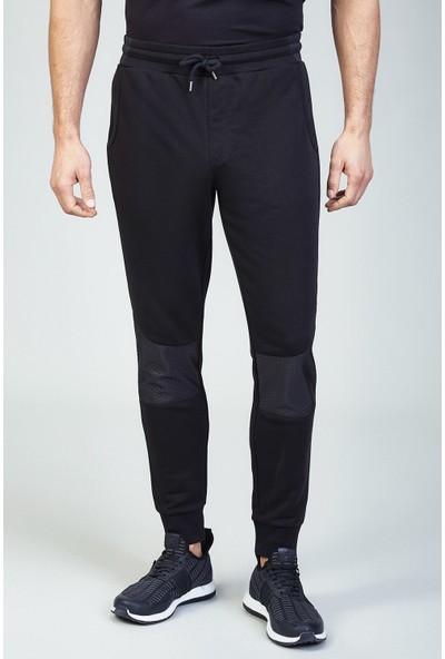 AVVA Siyah Erkek Düz Slim Fit Jogging Pantolon A82Y3402