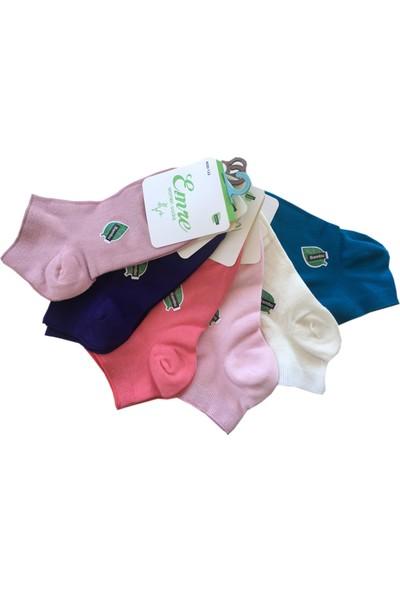 Emre-Jel Moud Bambu Bayan Soket Çorap 5'Li Set