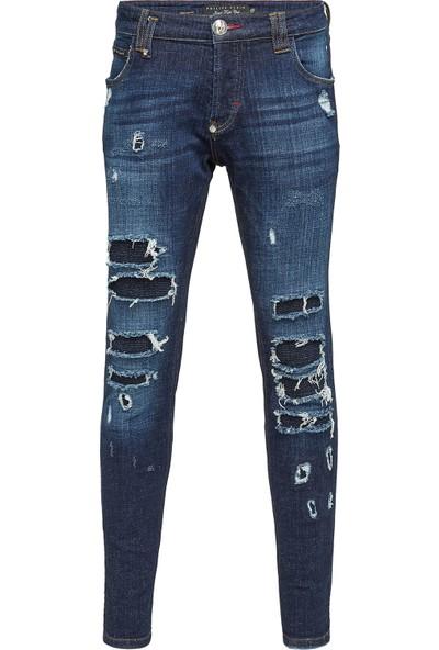 Philipp Plein Jeans Erkek Kot Pantolon F18C Mdt0945 Pde004N 08Bw