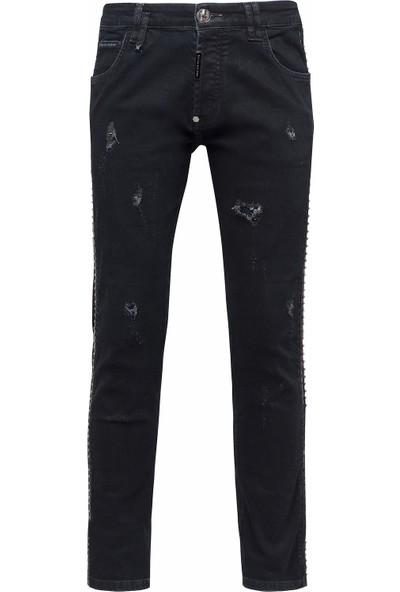 Philipp Plein Jeans Erkek Kot Pantolon F18C Mdt0953 Pde004N 02Ba