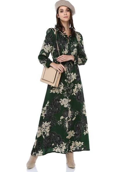 Cream&Rouge Kadın 18K100 Gömlek Elbise