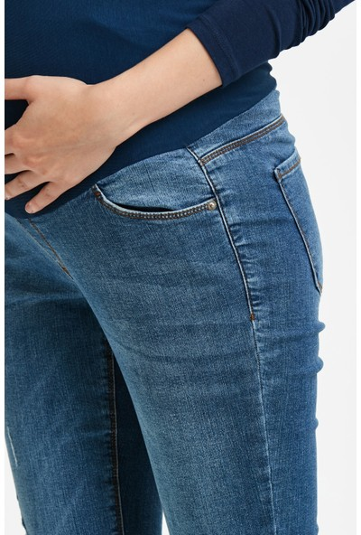Lc Waikiki Kadın Hamile Jean Pantolon