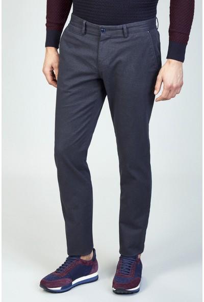 AVVA Antrasit Erkek Slim Fit Desenli Pantolon A82Y3010