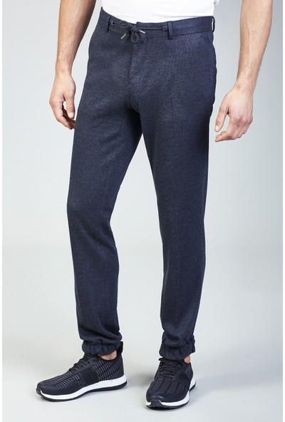 AVVA Antrasit Erkek Desenli Slim Fit Jogging Pantolon A82Y3088