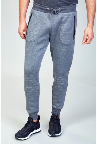 AVVA Gri Erkek Düz Slim Fit Jogging Pantolon A82Y3400